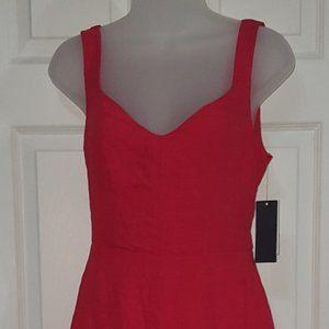City Studio Red Dress Juniors XS NWT